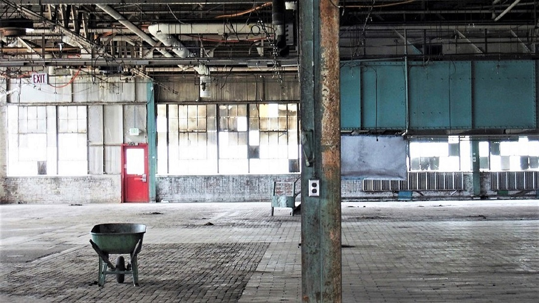 The old Ford plant, Charlotte