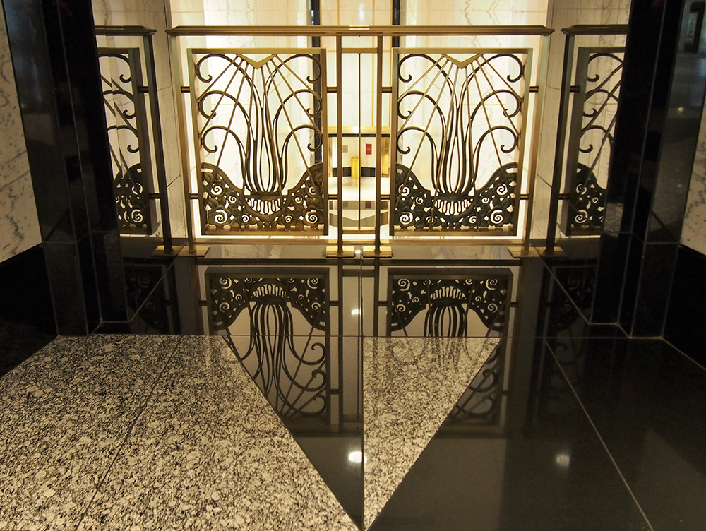 Detail, Hearst Building