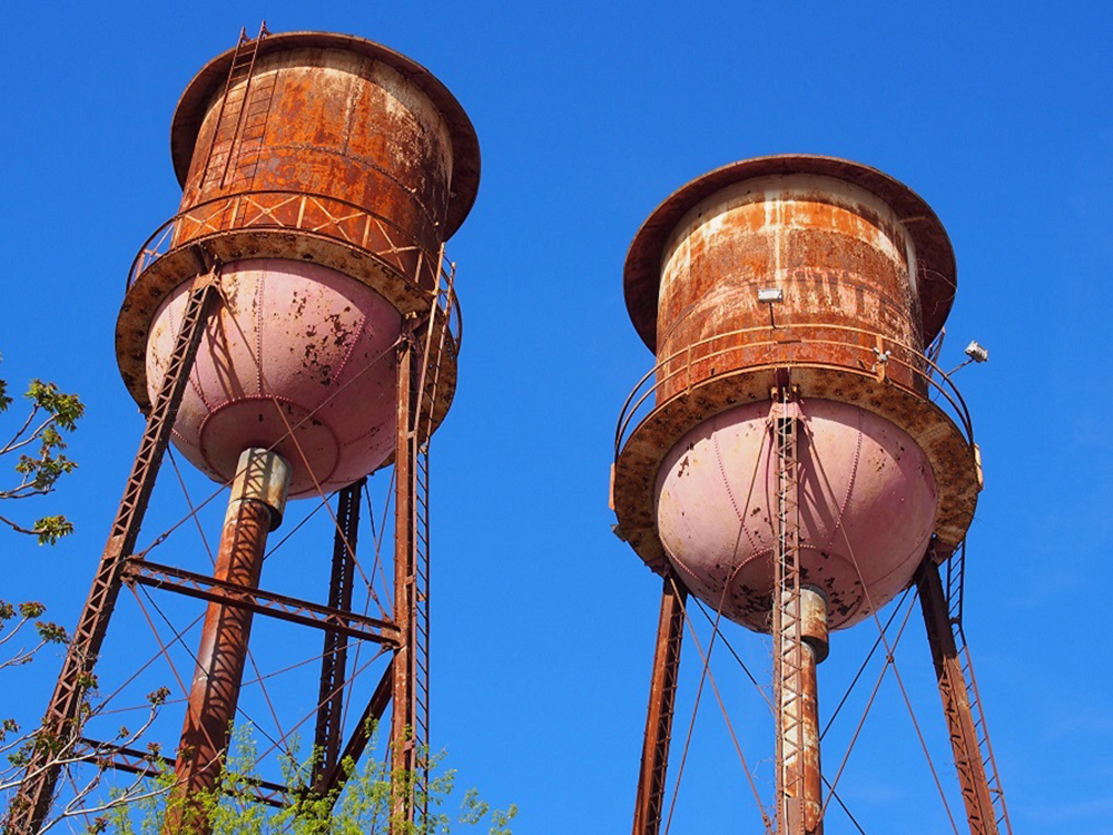 Water towers, Wilson, NC