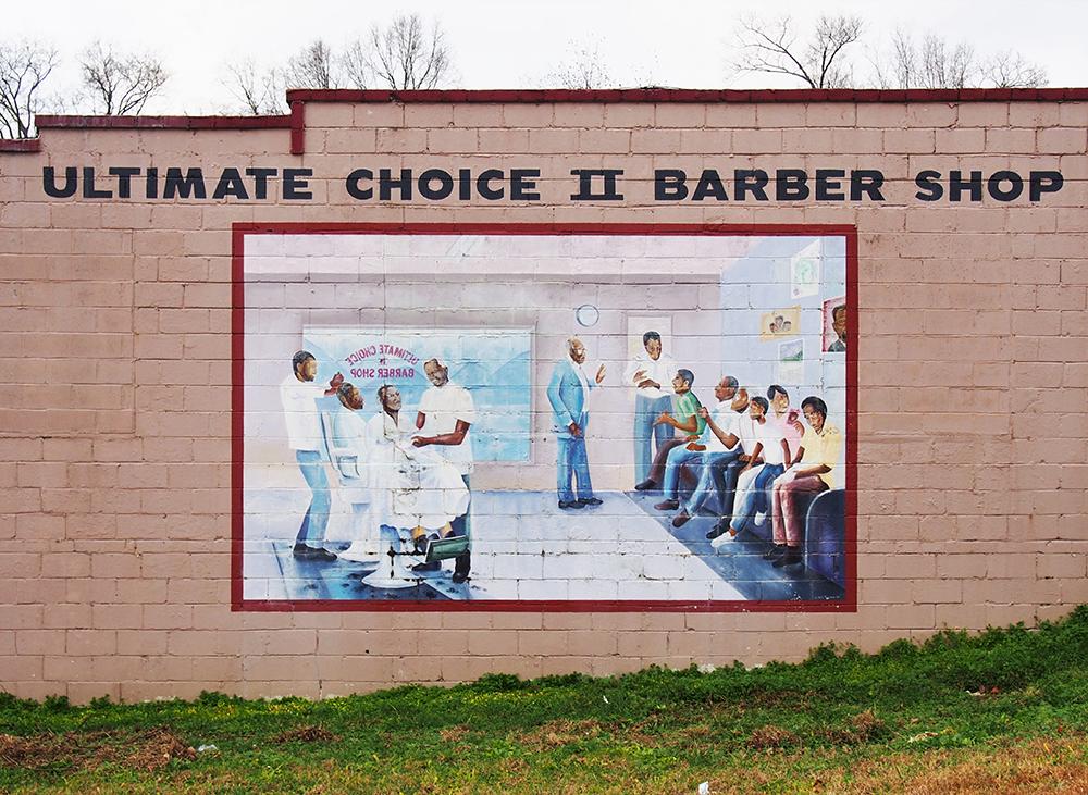 Barber shop, Charlotte