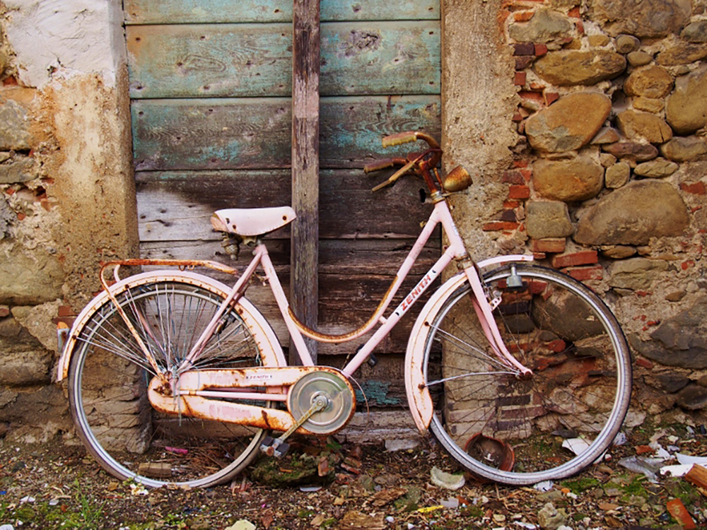 Bicycle, Collodi, Italy