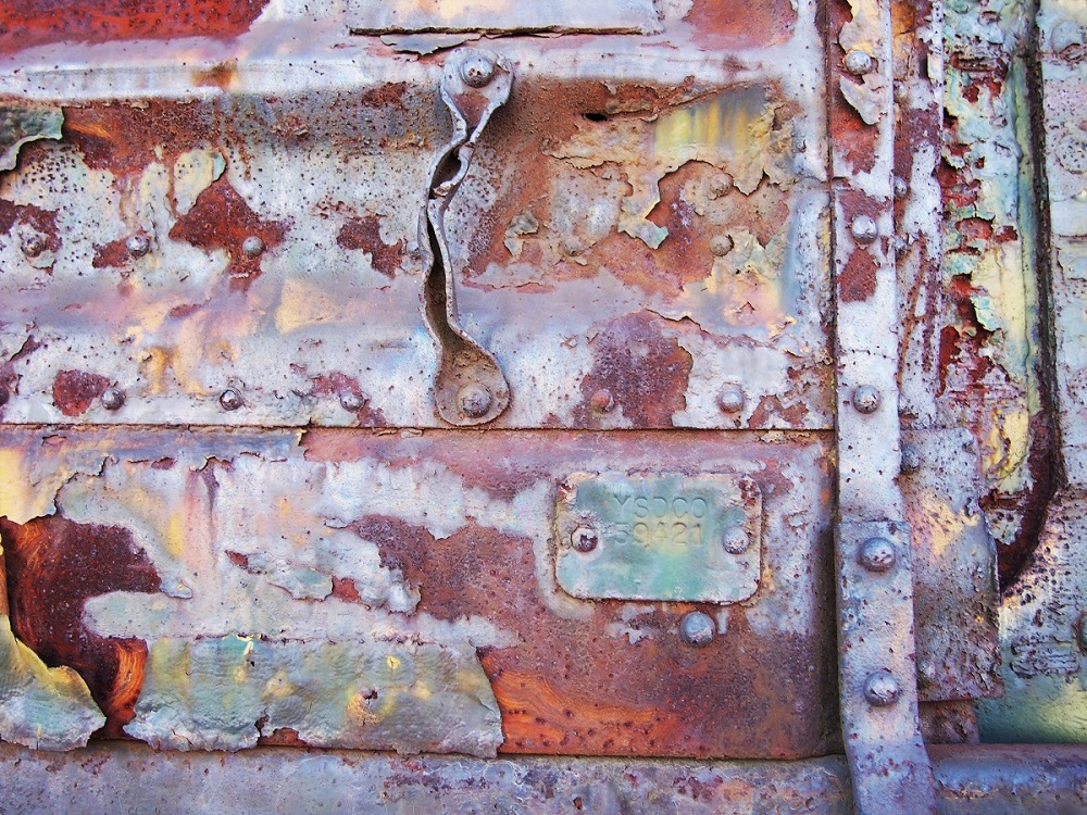 Detail, Rusted Boxcar