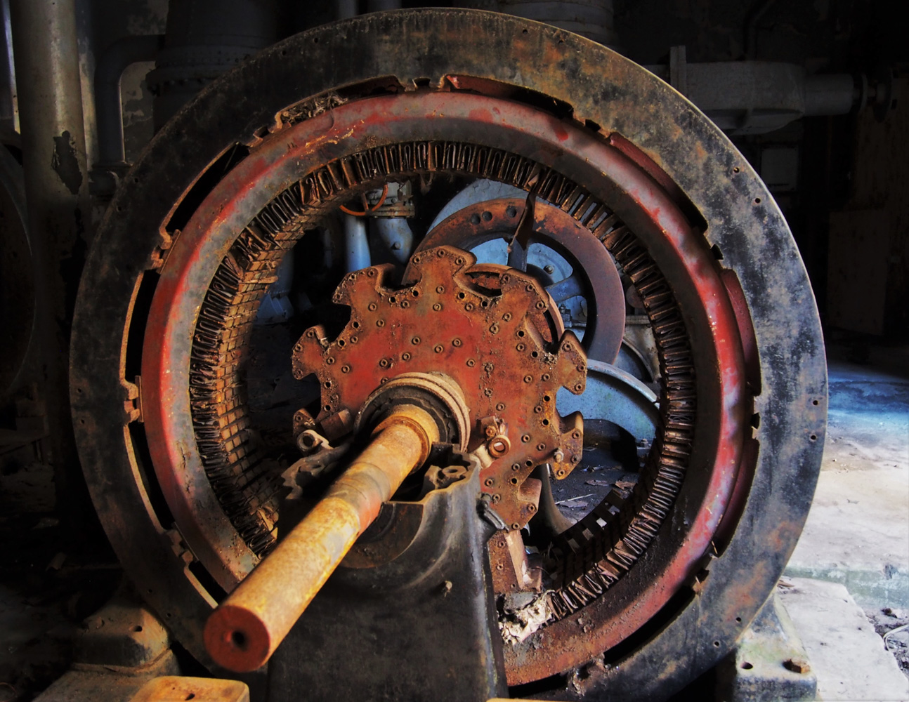 Gear from old power plant